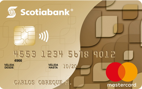 Gold MasterCard Scotiabank - Tarjeta de Crédito
