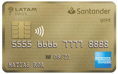 Gold Santander Latam Pass - Tarjeta de Crédito