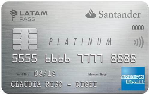 Platinum Santander LATAM PASS - Tarjeta de Crédito