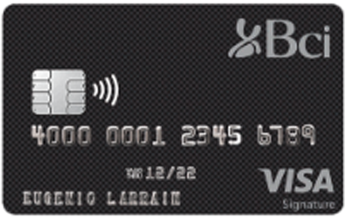 Bci Visa Signature - Tarjeta de crédito