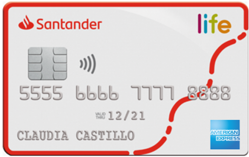 Santander Life - Tarjeta de crédito